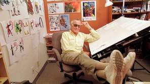 Stan Lee, co-creator of Spider-Man and other Marvel