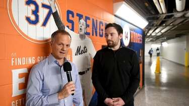 Newsday baseball columnist DavidLennon and Mets beat writer
