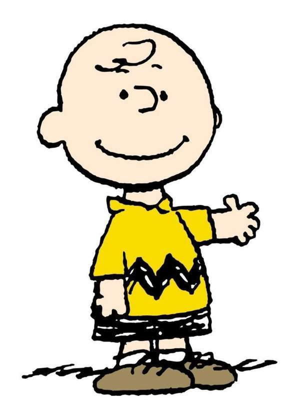 Charlie Brown from the Charles M Schulz comic
