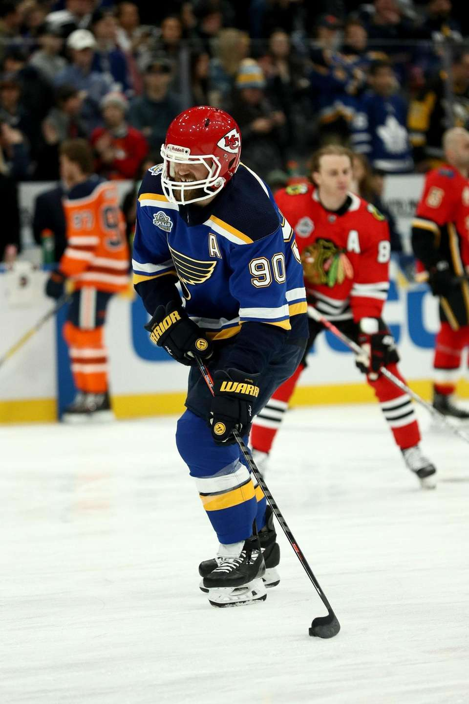 Ryan O'Reilly of the St. Louis Blues looks