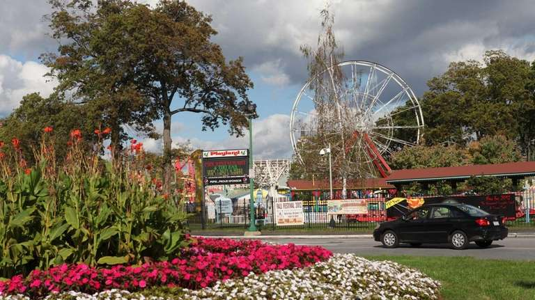 The amusement park at Rye's Playland is closed