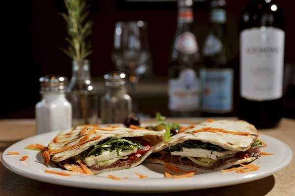 Piadina -- aka piada -- is a grilled