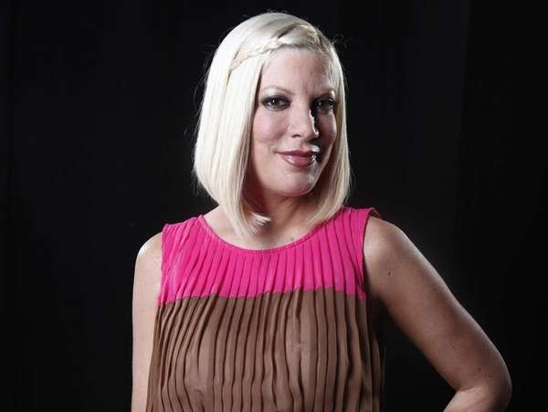 Actress Tori Spelling. (April 3, 2012)