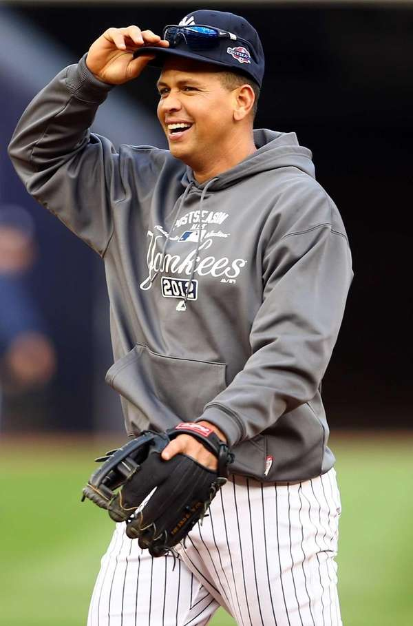 Alex Rodriguez of the New York Yankees during