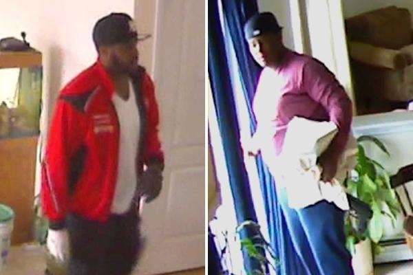 Suffolk County police are seeking two men in