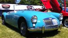 THE CAR AND ITS OWNER 1959 MGA owned