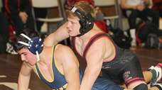 Mt Sinai's Matt Campo defeats Shoreham Wading River's