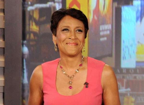 Co-host Robin Roberts during a broadcast of
