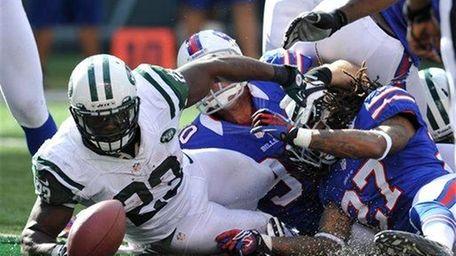 DROP SHONN GREENE | Jets running back The