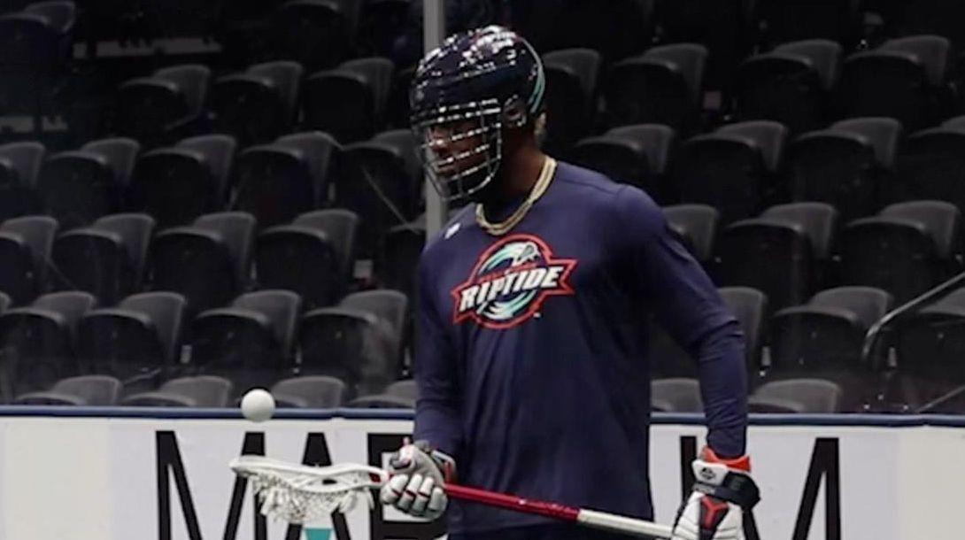 Myles Jones, a former All-Long Island lacrosse star