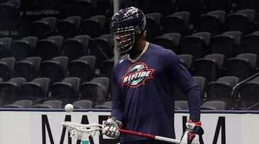 Myles Jones, a former All-Long Island lacrosse star
