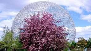 The Biosphere, Environment Museum, in Montreal's Parc Jean-Drapeau