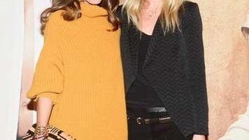 Olivia Palermo, left, and Elin Kling, esteemed fashion