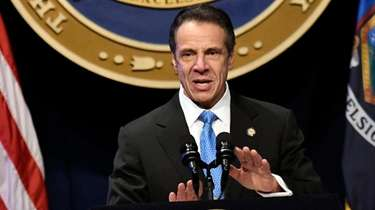 Gov. Andrew Cuomo delivers his State of the