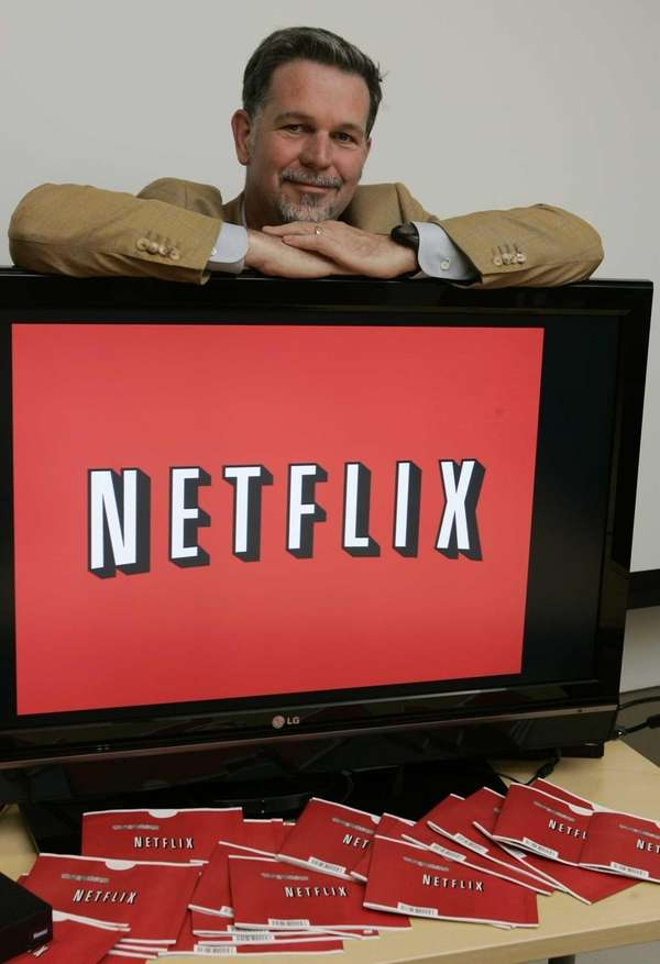 Netflix chief executive Reed Hastings at Netflix headquarters