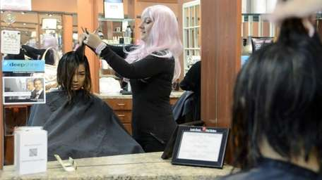 Marie Perico, owner of The Cutting Edge Hair