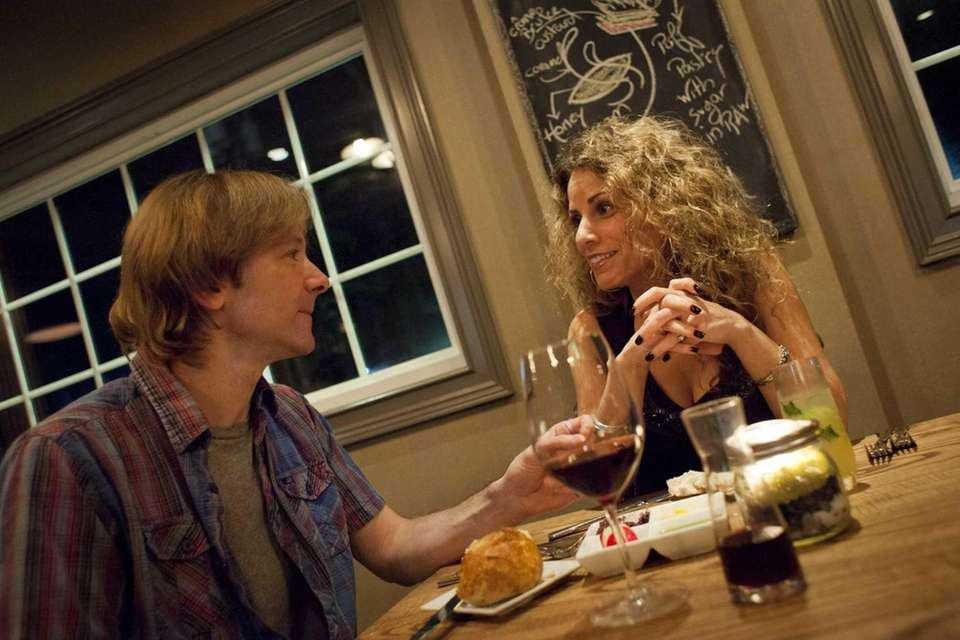 Freddy and Laura Monday of Babylon chat while