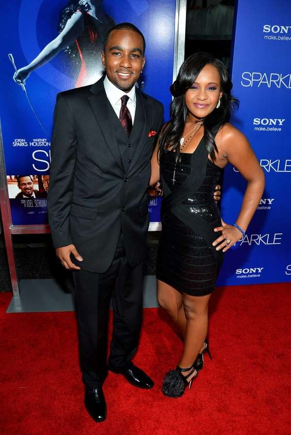 Bobbi Kristina Brown and Nick Gordon arrive at