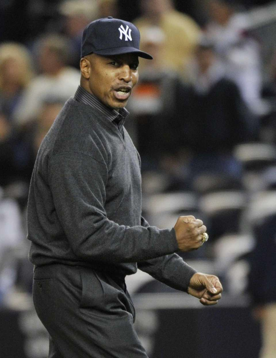 Former Major League player and manager Willie Randolph