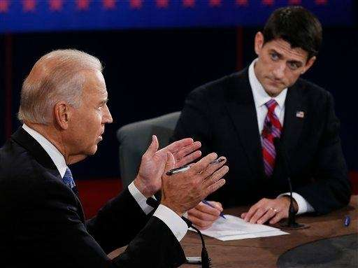 Vice President Joe Biden, left, speaks during the
