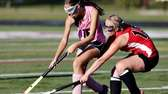 Southampton's Shelby Pierson and Pierson's Kirra McGowin battle