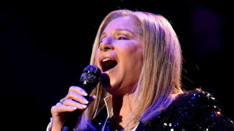 Barbra Streisand performs at the Barclays Center in