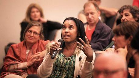 Melisa Chioma Rousseau was among several dozen Huntington