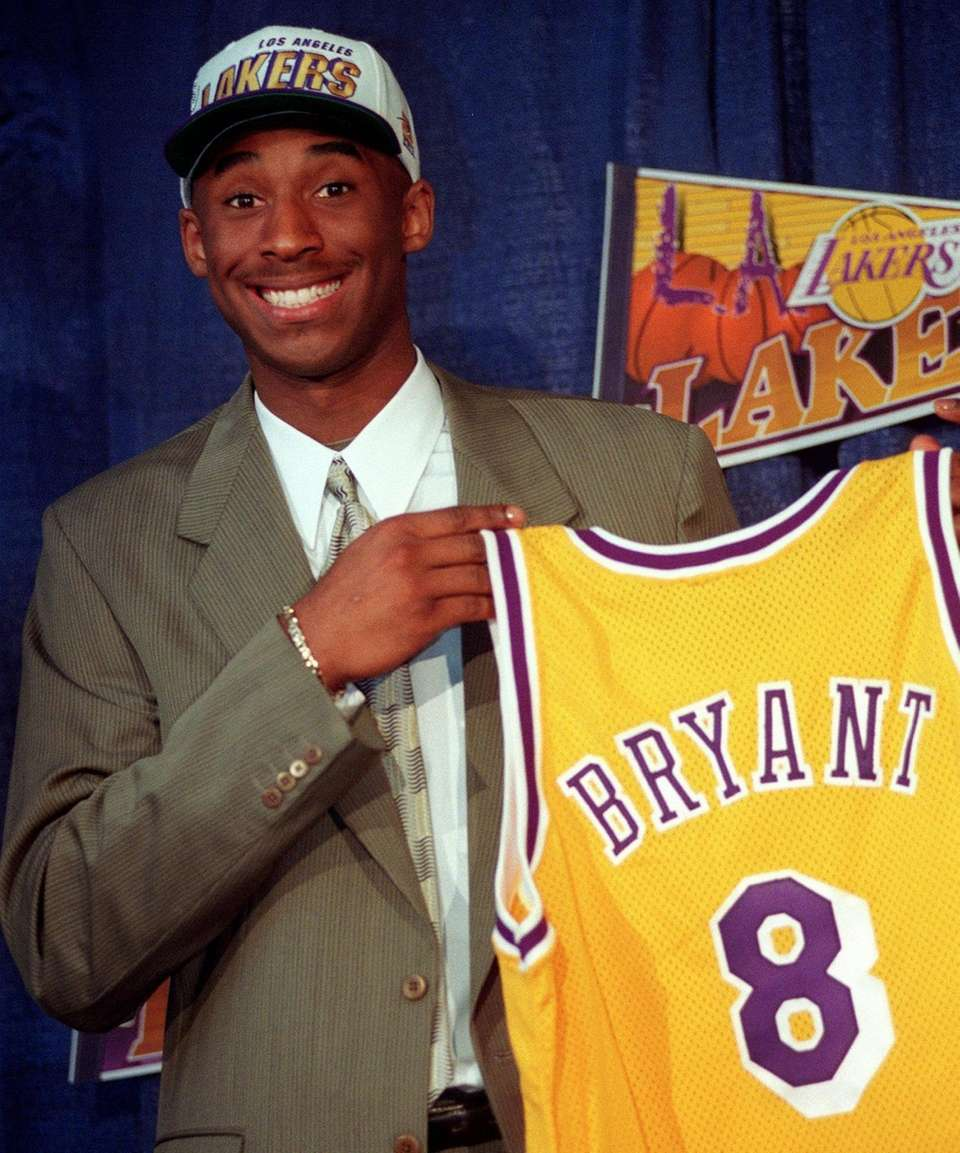 The first of Kobe Bryant's now 30,000-plus career
