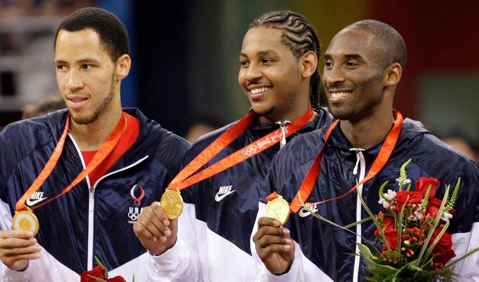 Kobe Bryant was named captain of the U.S.