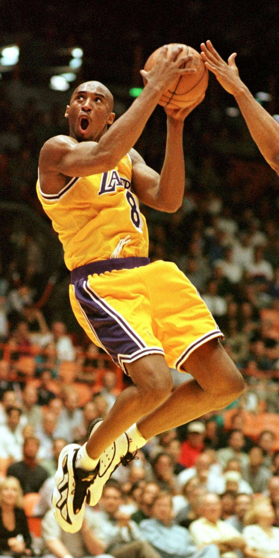 Kobe Bryant's star appeal first became evident on