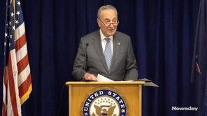 Sen. Chuck Schumer (D-N.Y.) on Sunday urged federal