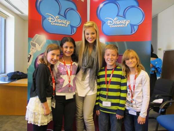 Actress Olivia Holt at the ABC offices in