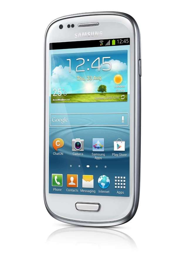 A scaled-down, compact version of Samsung's flagship Galaxy