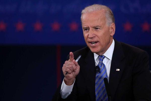 Vice President Joe Biden speaks during the vice-presidential