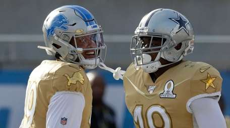 NFC wide receiver Amari Cooper of the Cowboys,