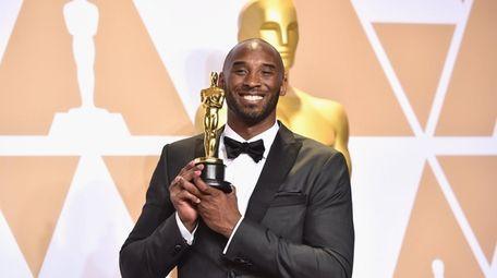 Filmmaker Kobe Bryant, winner of the best animated