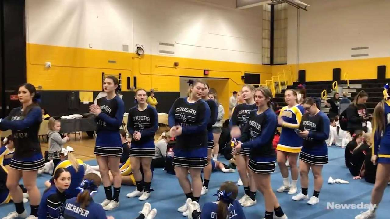 Sights and sounds from the Suffolk cheerleading competition