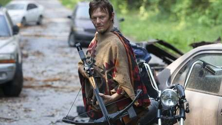Norman Reedus as Daryl Dixon in a scene