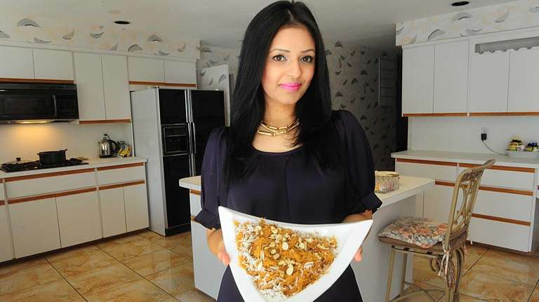 Mariam Munawer with Sweet Vermicelli, a Muslim tradition