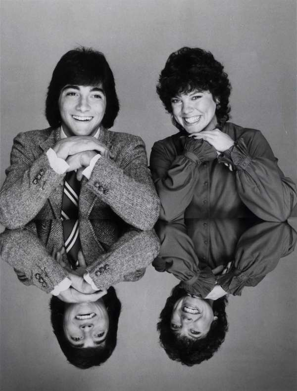 Scott Baio and Erin Moran in