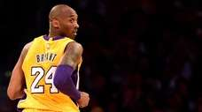 Kobe Bryant of the Lakers looks back in