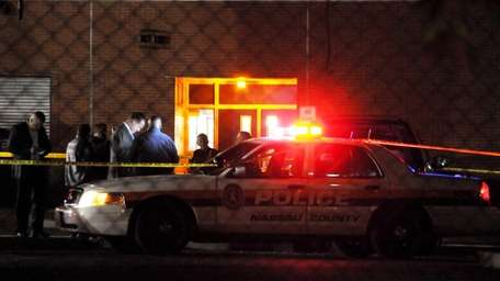 Nassau police responded to a report of shots
