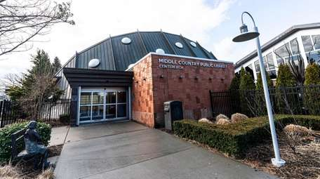 The Middle Country Public Library in Centereach on