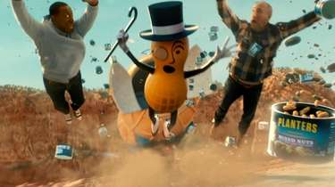 "Planters' Super Bowl ad with the ""death"" of"