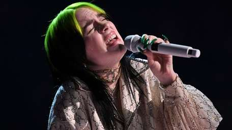 Billie Eilish won awards for song of the