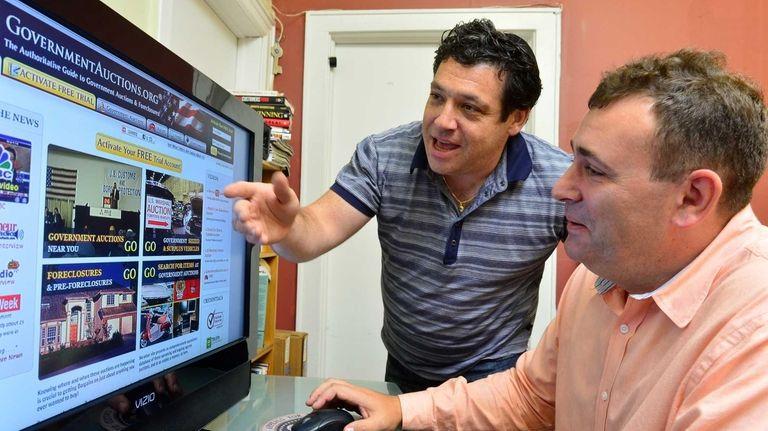 Ian Aronovich and his business partner Michael Pesochinsky