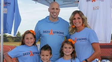 Matt Dezy DiStefano and his wife Jennifer DiStefano