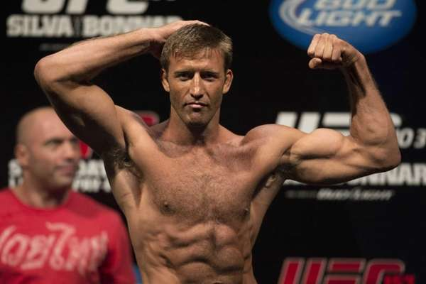 Stephan Bonnar, from the U.S., poses during the
