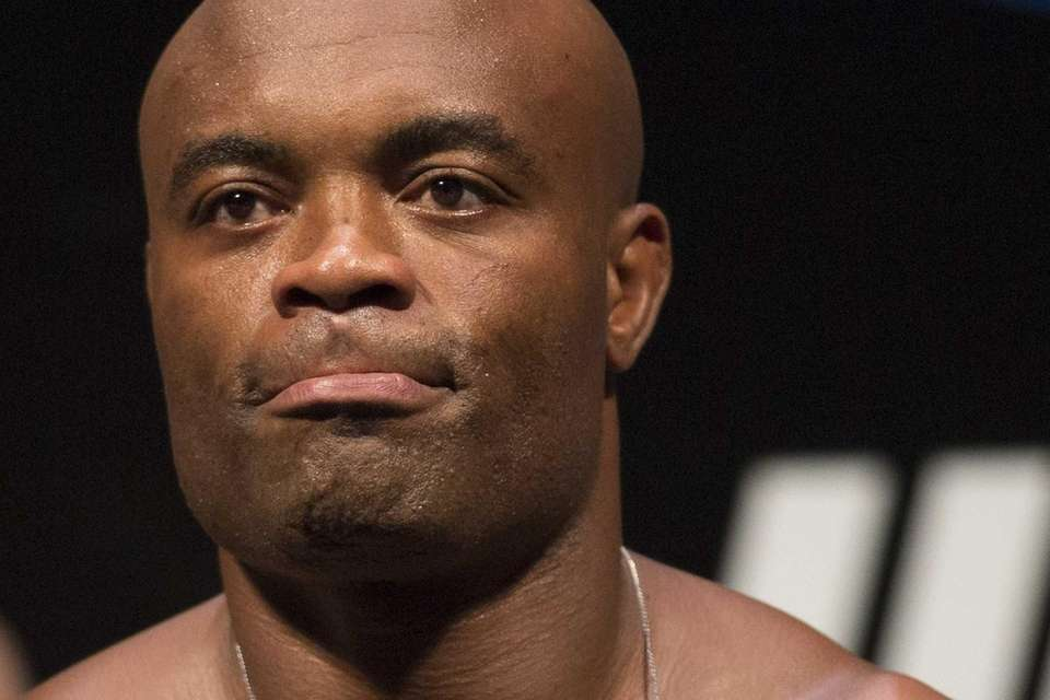 Mixed martial arts fighter Anderson Silva, from Brazil,