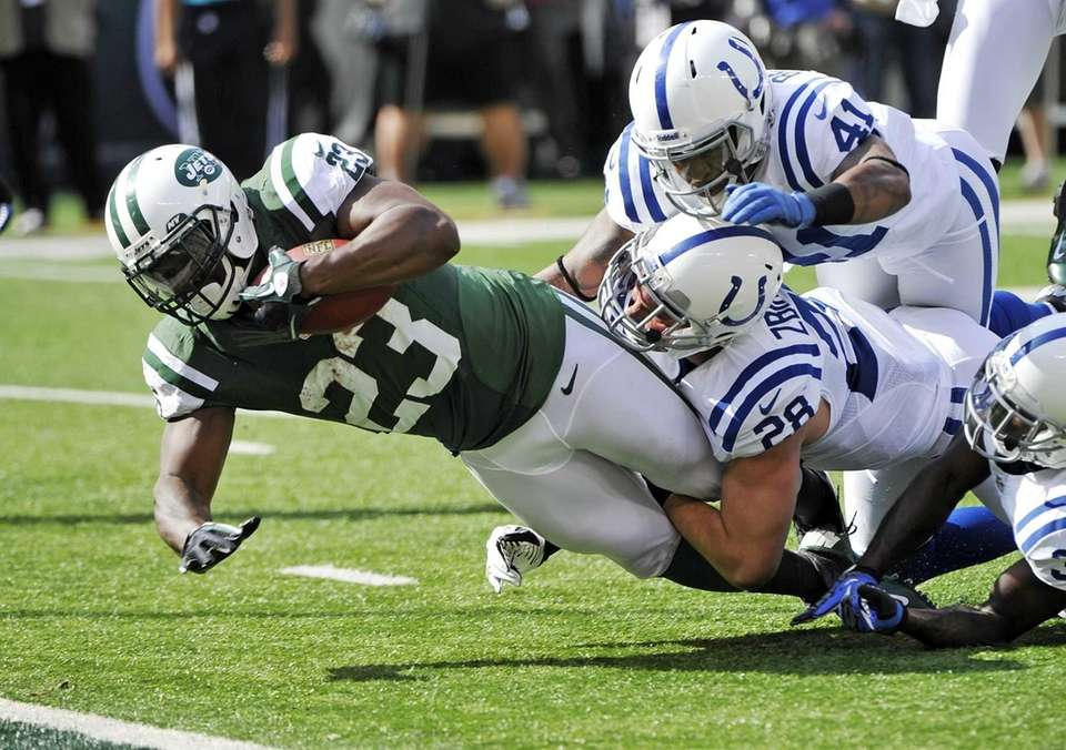 WEEK 6: JETS 35, COLTS 9 Shonn Greene